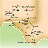 Big Bend and Carlsbad Caverns National Parks