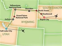 Yellowstone, Grand Tetons & Mt. Rushmore